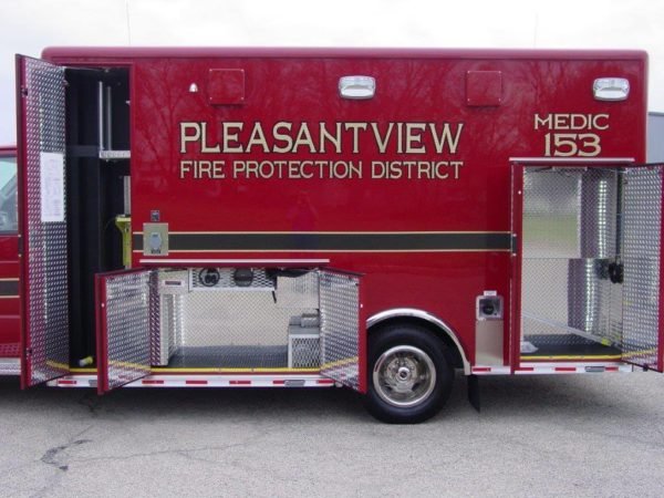 Pleasantview FPD Medic 153