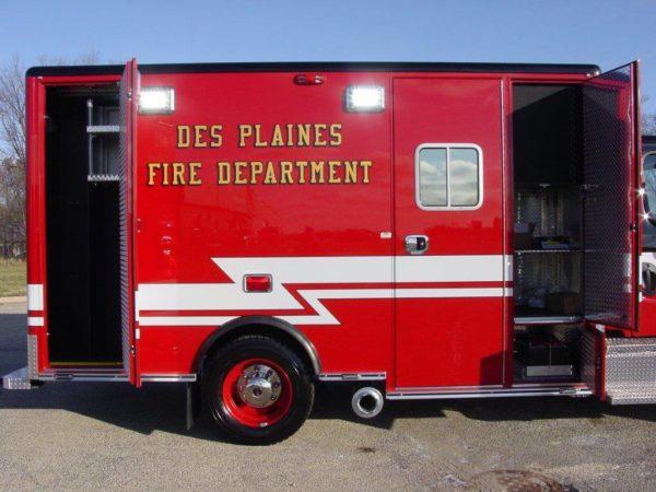 Des Plaines FD Ambulance 63