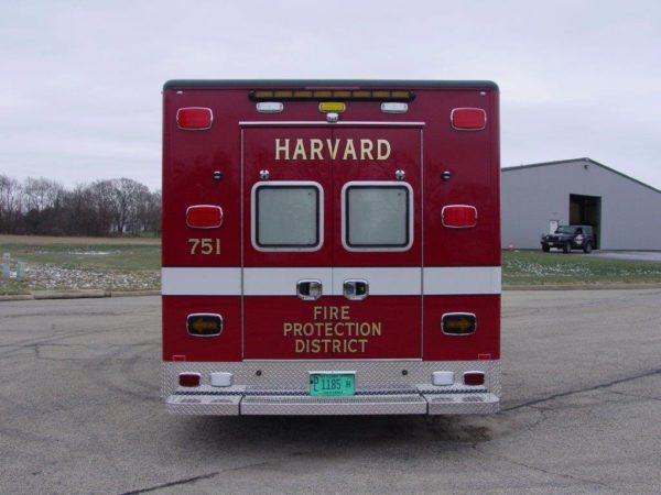 Harvard FPD ambulance