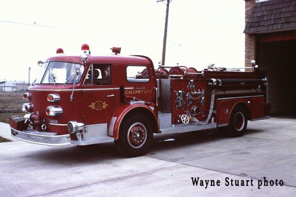 1965 American LaFrance pumper