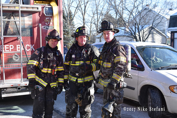 Lincolnshire-Riverwoods FPD firefighters