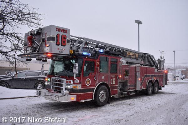 Skokie FD Truck 16