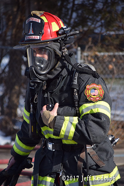 firefighter wearing full PPE