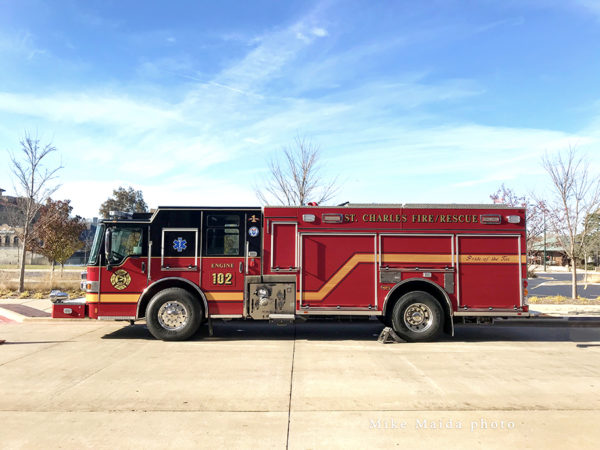 St Charles FD Engine 102