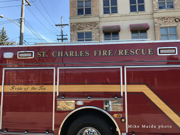 St Charles FD Engine 103