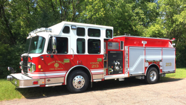 River Forest FD fire engine