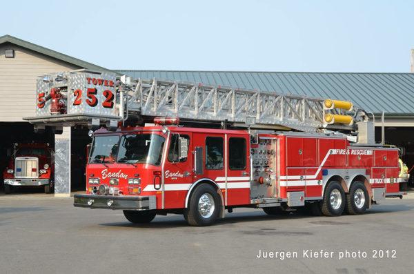 former Lombard FD fire truck
