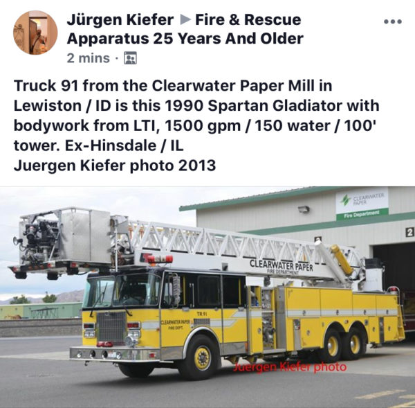 Clearwater Paper Mill Fire Department