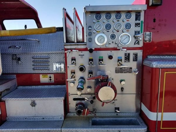 Former Lynwood, IL Mack CF fire engine for sale