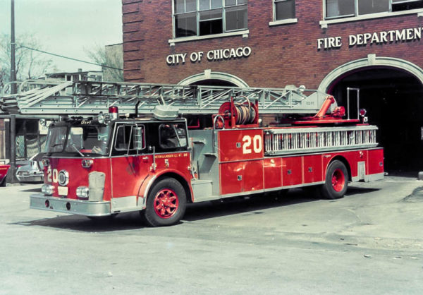 Chicago FD Truck 20