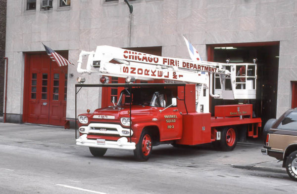 Chicago's original Snorkel restored