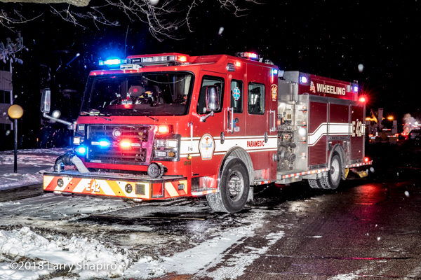 Wheeling FD Engine 42 Rosenbauer Commande3r
