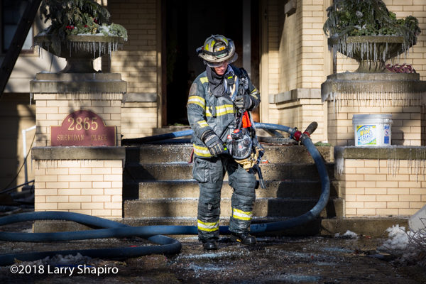 Evanston FD Shift Commander Bill Muno