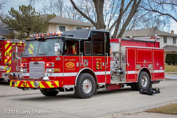 Des Plaines FD Engine 61