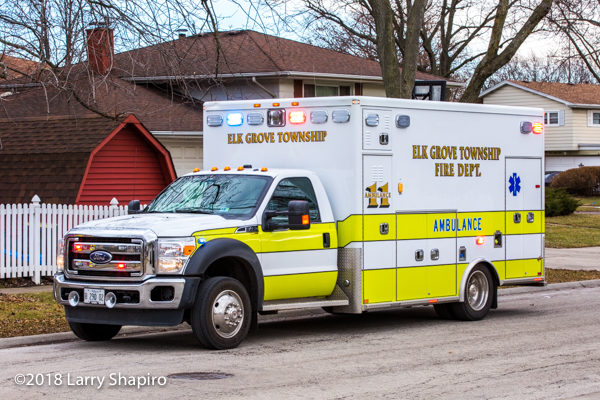 Elk Grove Township FD Ambulance 11