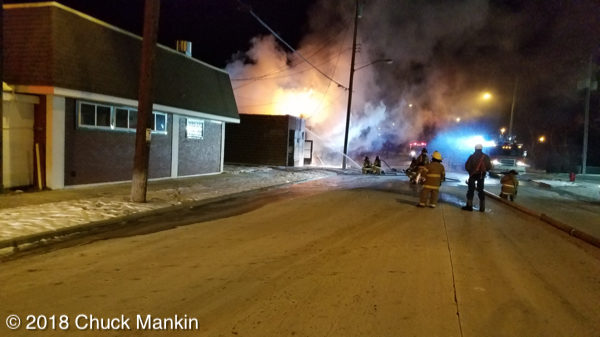 Rosie's Bar in Racine destroyed by fire