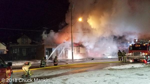 Rosie's Bar in Racine destroyed by fire