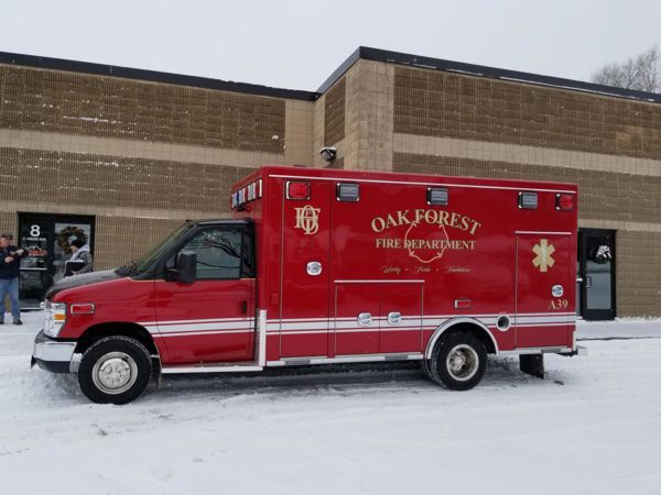 Oak Forest FD Ambulance 39
