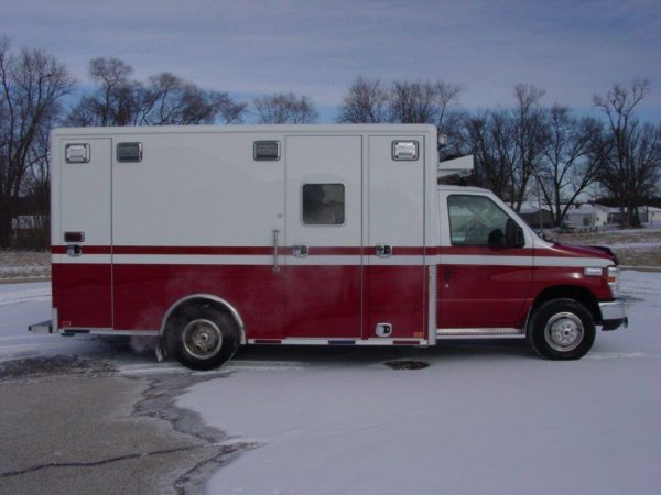 new ambulance for the Crystal Lake FD