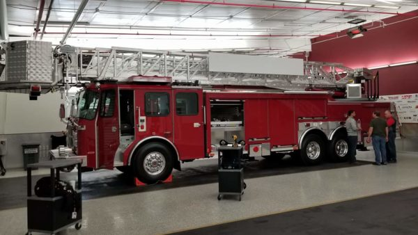new Aurora FD tower ladder