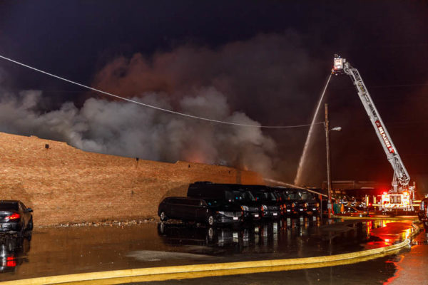Maine Scrap Metals fire