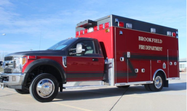Brookfield FD Ambulance 414
