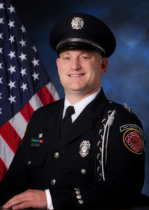 Buffalo Grove FD Firefighter/Paramedic Kevin Hauber