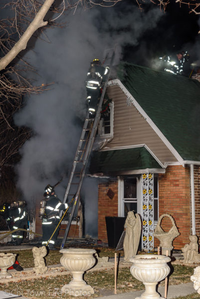 house fire in Cicero
