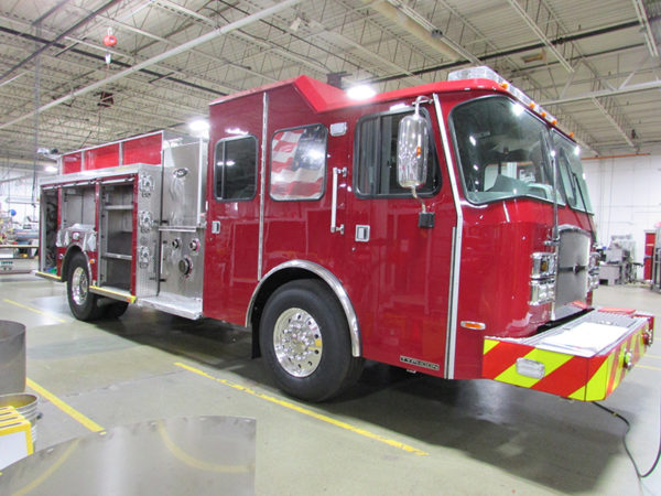 E-ONE Typhoon fire engine for River Grove, IL