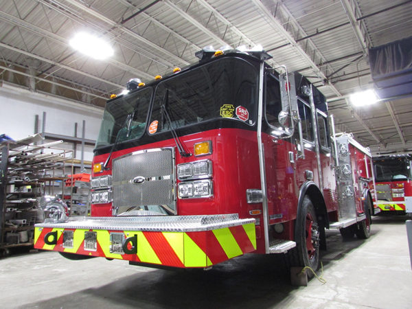 new E-ONE fire engine for the Chicago Fire Department