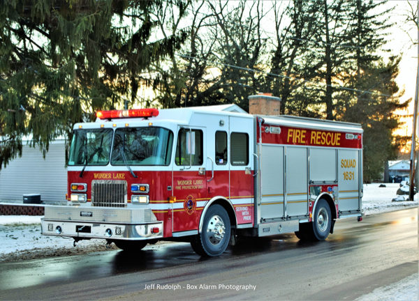 Wonder Lake Fire Rescue Squad 1631