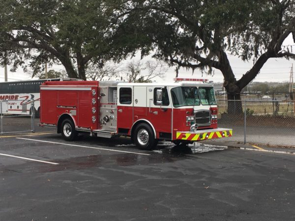 new fire engine for the Elgin Fire Department