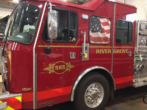 New E-ONE Typhoon engine for River Grove