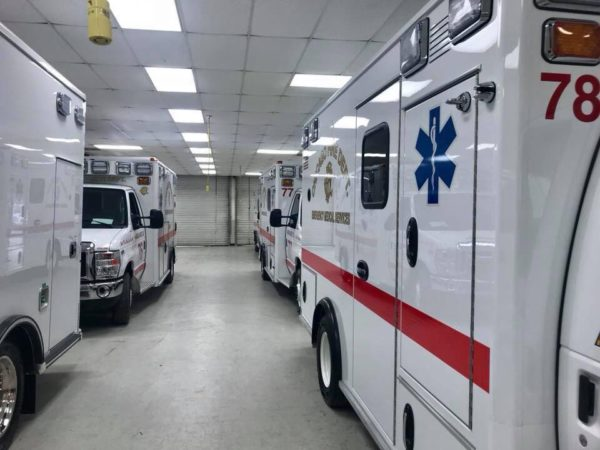 new ambulance for Chicago FD
