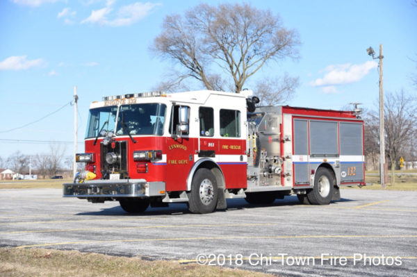 2007 Sutphen Monarch fire engine