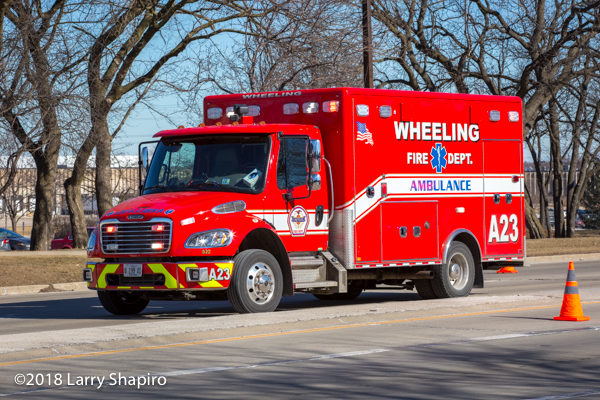 Wheeling FD Ambulance 23
