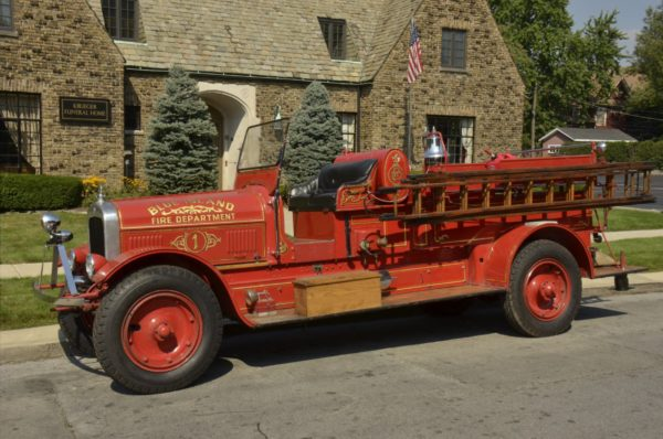 1925 Seagrave fire engine Blue Island IL