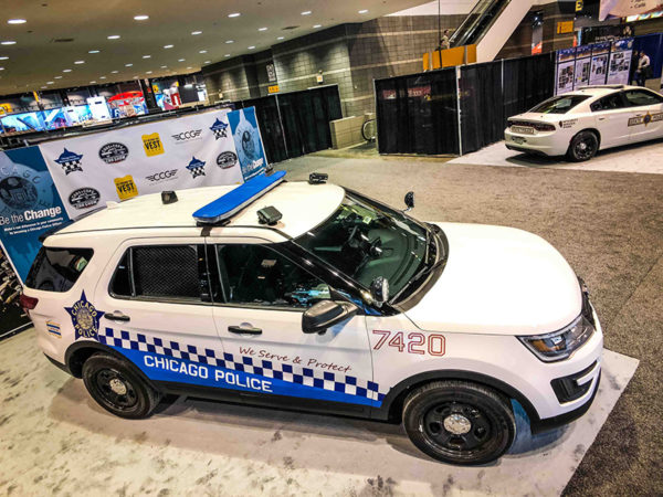 New Design For Chicago Police Cars Introduced In 2018