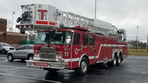 new Aurora Fire Department Truck 11