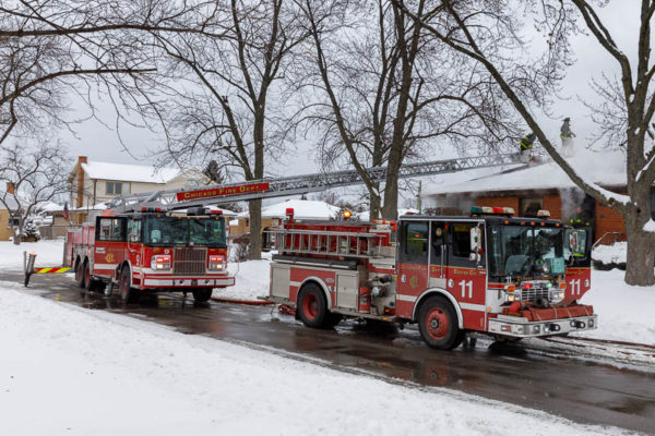 Chicago FD Engine 11 and Truck 9