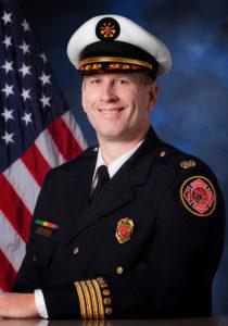 Buffalo Grove Fire Department Deputy Chief Doug Postma