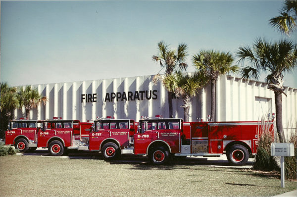 1979 E-ONE delivery photo for Gary Indiana Fire Department