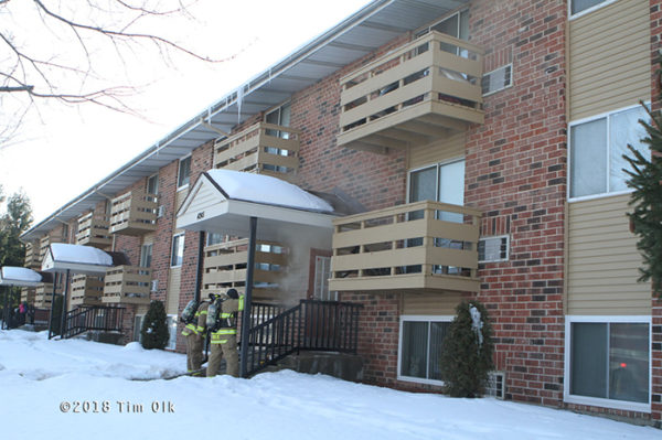 Gurnee Firefighters at work