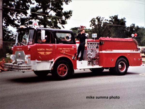 North Palos FD history