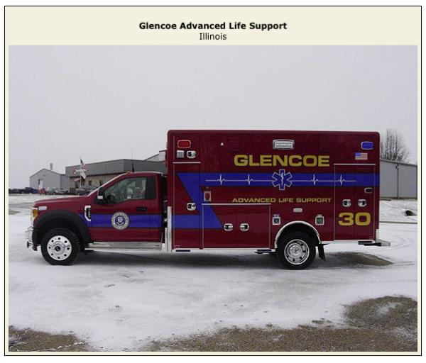 Glencoe Ambulance 30