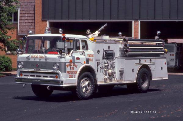 Ford/Howe fire engine