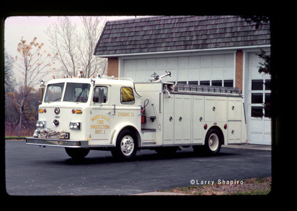 classic custom Pirsch rescue engine