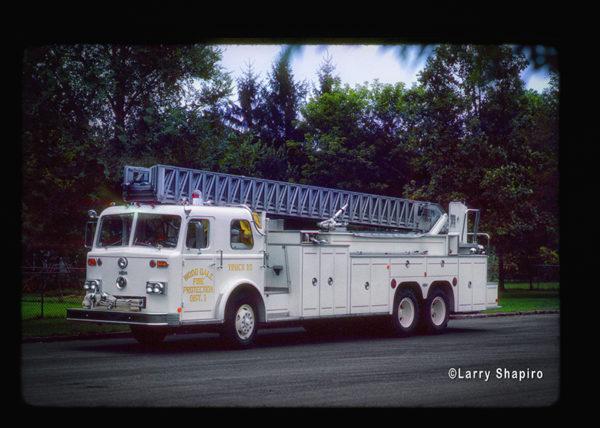 classic custom Pirsch ladder truck