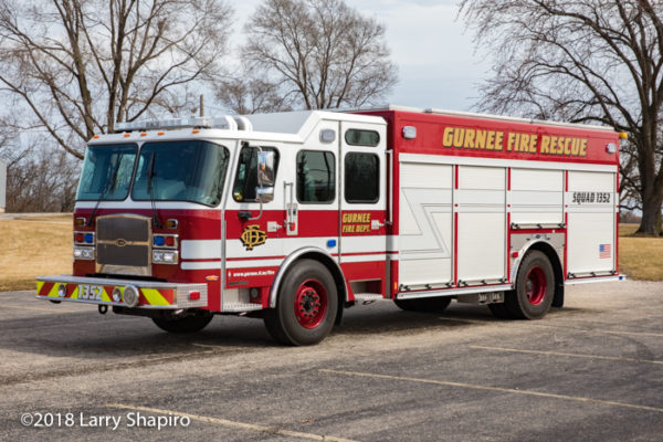 Gurnee Fire Department squad