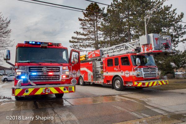 Rosenbauer Commander fire trucks